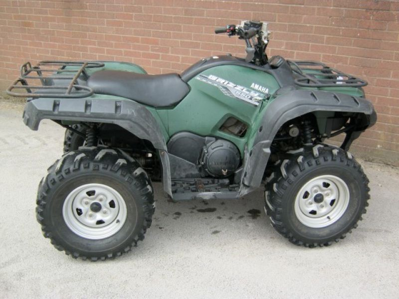 550 grizzly atv quad bike agribuy for Yamaha grizzly 800